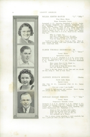 Page 10, 1940 Edition, Leavitt Area High School - Angelus Yearbook (Turner, ME) online yearbook collection