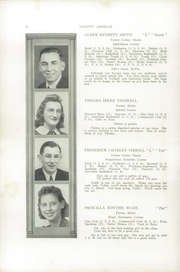 Page 14, 1940 Edition, Leavitt Area High School - Angelus Yearbook (Turner, ME) online yearbook collection