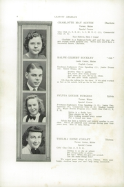 Page 8, 1940 Edition, Leavitt Area High School - Angelus Yearbook (Turner, ME) online yearbook collection