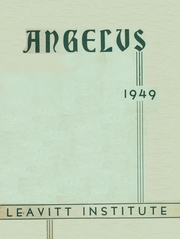 Page 1, 1949 Edition, Leavitt Area High School - Angelus Yearbook (Turner, ME) online yearbook collection