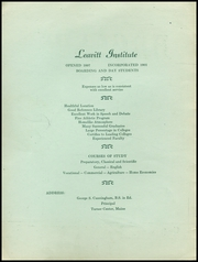 Page 2, 1949 Edition, Leavitt Area High School - Angelus Yearbook (Turner, ME) online yearbook collection