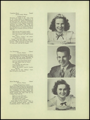 Page 7, 1949 Edition, Leavitt Area High School - Angelus Yearbook (Turner, ME) online yearbook collection