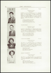 Page 12, 1950 Edition, Leavitt Area High School - Angelus Yearbook (Turner, ME) online yearbook collection