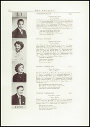 Page 14, 1950 Edition, Leavitt Area High School - Angelus Yearbook (Turner, ME) online yearbook collection