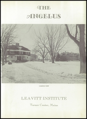 Page 5, 1955 Edition, Leavitt Area High School - Angelus Yearbook (Turner, ME) online yearbook collection
