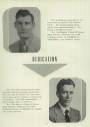 Page 8, 1954 Edition, Orono High School - Crimson Crier Yearbook (Orono, ME) online yearbook collection