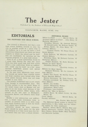 Page 5, 1946 Edition, Ellsworth High School - Jester Yearbook (Ellsworth, ME) online yearbook collection