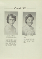 Page 15, 1953 Edition, Ellsworth High School - Jester Yearbook (Ellsworth, ME) online yearbook collection