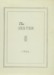 Page 3, 1953 Edition, Ellsworth High School - Jester Yearbook (Ellsworth, ME) online yearbook collection