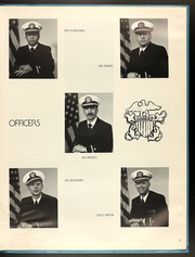Page 13, 1981 Edition, Caloosahatchee (AO 98) - Naval Cruise Book online yearbook collection
