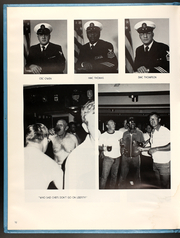 Page 16, 1981 Edition, Caloosahatchee (AO 98) - Naval Cruise Book online yearbook collection