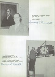 Page 8, 1955 Edition, Greely High School - Shield Yearbook (Cumberland Center, ME) online yearbook collection