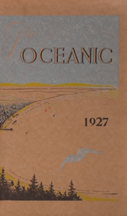 1927 Edition, Old Orchard Beach High School - Oceana Yearbook (Old Orchard Beach, ME)
