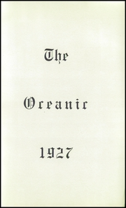 Page 5, 1927 Edition, Old Orchard Beach High School - Oceana Yearbook (Old Orchard Beach, ME) online yearbook collection