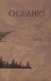 Page 1, 1929 Edition, Old Orchard Beach High School - Oceana Yearbook (Old Orchard Beach, ME) online yearbook collection