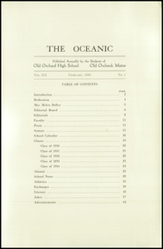 Page 7, 1929 Edition, Old Orchard Beach High School - Oceana Yearbook (Old Orchard Beach, ME) online yearbook collection
