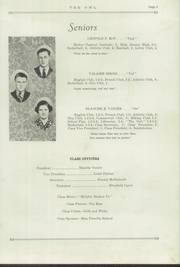 Page 11, 1938 Edition, Madawaska High School - Owl Yearbook (Madawaska, ME) online yearbook collection