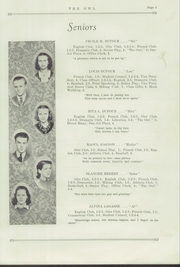 Page 7, 1938 Edition, Madawaska High School - Owl Yearbook (Madawaska, ME) online yearbook collection