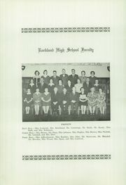 Page 8, 1943 Edition, Rockland High School - Cauldron Yearbook (Rockland, ME) online yearbook collection