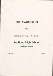 Page 5, 1946 Edition, Rockland High School - Cauldron Yearbook (Rockland, ME) online yearbook collection