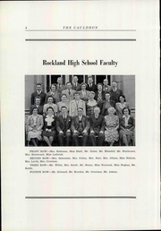 Page 8, 1946 Edition, Rockland High School - Cauldron Yearbook (Rockland, ME) online yearbook collection