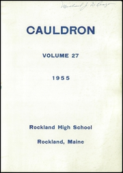Page 3, 1955 Edition, Rockland High School - Cauldron Yearbook (Rockland, ME) online yearbook collection