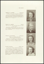 Page 11, 1945 Edition, Dexter High School - Signet Yearbook (Dexter, ME) online yearbook collection