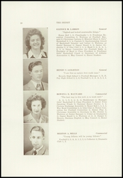 Page 12, 1945 Edition, Dexter High School - Signet Yearbook (Dexter, ME) online yearbook collection