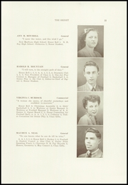 Page 13, 1945 Edition, Dexter High School - Signet Yearbook (Dexter, ME) online yearbook collection