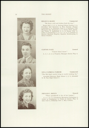 Page 14, 1945 Edition, Dexter High School - Signet Yearbook (Dexter, ME) online yearbook collection