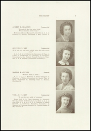 Page 9, 1945 Edition, Dexter High School - Signet Yearbook (Dexter, ME) online yearbook collection