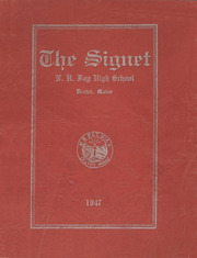 Page 1, 1947 Edition, Dexter High School - Signet Yearbook (Dexter, ME) online yearbook collection