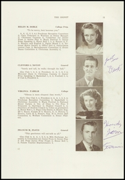 Page 13, 1947 Edition, Dexter High School - Signet Yearbook (Dexter, ME) online yearbook collection