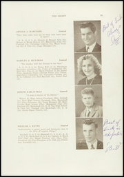 Page 15, 1947 Edition, Dexter High School - Signet Yearbook (Dexter, ME) online yearbook collection