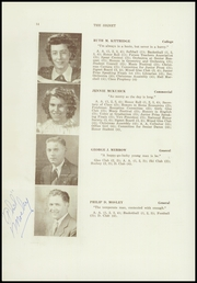 Page 16, 1947 Edition, Dexter High School - Signet Yearbook (Dexter, ME) online yearbook collection