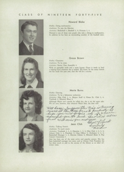 Page 14, 1945 Edition, Falmouth High School - Crest Yearbook (Falmouth, ME) online yearbook collection