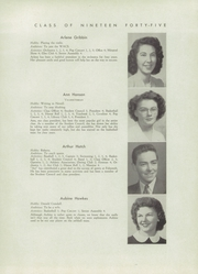 Page 17, 1945 Edition, Falmouth High School - Crest Yearbook (Falmouth, ME) online yearbook collection