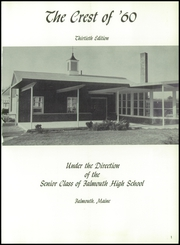 Page 5, 1960 Edition, Falmouth High School - Crest Yearbook (Falmouth, ME) online yearbook collection