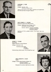 Page 16, 1961 Edition, Falmouth High School - Crest Yearbook (Falmouth, ME) online yearbook collection