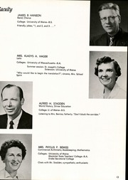 Page 17, 1961 Edition, Falmouth High School - Crest Yearbook (Falmouth, ME) online yearbook collection