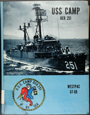 Page 1, 1968 Edition, Camp (DER 251) - Naval Cruise Book online yearbook collection