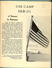 Page 5, 1968 Edition, Camp (DER 251) - Naval Cruise Book online yearbook collection