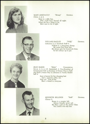 Page 12, 1958 Edition, Madison High School - Bulldog Yearbook (Madison, ME) online yearbook collection