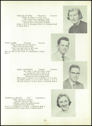 Page 17, 1958 Edition, Madison High School - Bulldog Yearbook (Madison, ME) online yearbook collection