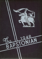 1948 Edition, John Bapst High School - Bapstonian Yearbook (Bangor, ME)