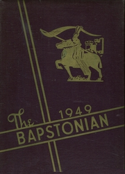 1949 Edition, John Bapst High School - Bapstonian Yearbook (Bangor, ME)
