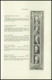 Page 15, 1935 Edition, Livermore Falls High School - Banner Yearbook (Livermore Falls, ME) online yearbook collection