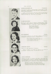 Page 12, 1944 Edition, Livermore Falls High School - Banner Yearbook (Livermore Falls, ME) online yearbook collection