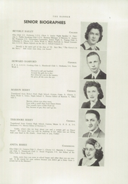 Page 7, 1944 Edition, Livermore Falls High School - Banner Yearbook (Livermore Falls, ME) online yearbook collection