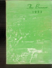 1953 Edition, Livermore Falls High School - Banner Yearbook (Livermore Falls, ME)